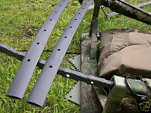 2 API TREESTAND CHAIN COVER WRAPS HEAT SHRINK TUBING w Pre-Punched Holes