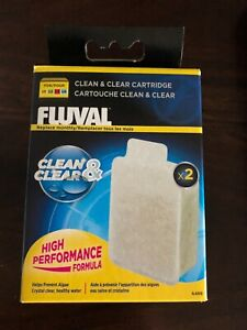 New Fluval U Filter - Clean & Clear Cartridge Pack of two - Tropical Fish Tank