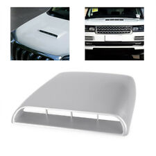 Gray 4x4 Car Auto Decorative Air Flow Intake Turbo Bonnet Vent Hood Scoop Cover
