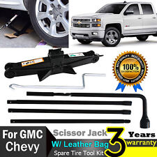 For Gmc Sierra 1500 Car Truck Spare Tire Repair Lugh Wrench Tool Scissor Jack