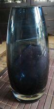 Riihimaen Lasi Oy Finland Glas Vase 1365 Tamara Aladin MCM Finish Design