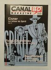 Magazine - Canal BD n 27 / 2002 / FOLLET & DUCHATEAU & EISNER & BEC & DORISON