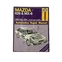 Haynes Mazda 626 MX-6 1983-1991 Automotive Repair Service Shop Manual 1082