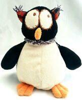 Joyce Friend Owl Soft Plush Beans In Bum Stuffed Animal Black Bird Toy 21CM