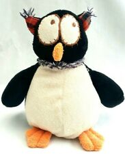 Joyce Friend Owl Soft Plush Beans In Bum Stuffed Animal Black Bird Toy 21CM