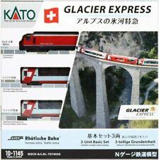 Voitures de voyageurs KATO pour modélisme ferroviaire à l'échelle N