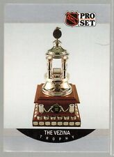 1990/91 PROSET  CARD #391 PATRICK ROY VEZINA TROPHY WINNER MINT COND.