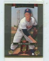 BOB LEMON 2003 Upper Deck Sweet Spot Classics Baseball #7 Cleveland Indians