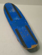 Vintage A.L.S. Industries California Free Former Skateboard Blue Wood USA HTF
