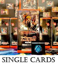 Weiẞ Weiss Schwarz The Seven Deadly Sins Single Cards Singles CHOOSE YOUR CARD