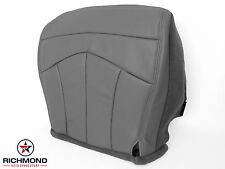 2001 Ford F-150 Lariat 4X4 2WD -Driver Side Bottom Leather Seat Cover GRAY