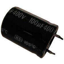Elko Kondensator Jamicon HS 400V 100uF RM10 22x30mm 105°C Snap-in 854280