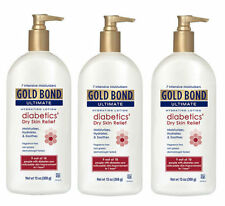 3 PACK Gold Bond Ultimate Diabetic Dry Skin Relief Lotion 13oz 041167053508YN