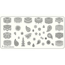 MoYou Nails XL Schablone Ethnic 1 Mandala Ornament Stempelplatte Stamping
