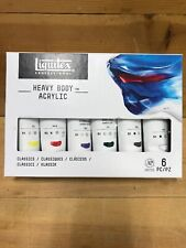 Liquitex Acrylic Paint Starter Set: Assorted Colors, 2 Ounces, 6 Pieces