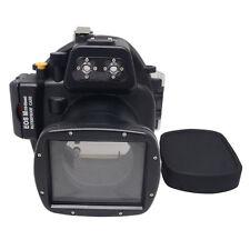 Mcoplus 40m/130ft Underwater Camera Housing Case for Canon EOS M 18-55mm Lens