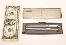 Papermate Vintage Ballpoint Pen & Mechanical Pencil Set - Executive Slim Model