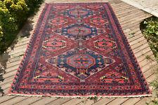 Caucasian Rug 76''x123'' Hand Woven 194x313cm Antique Vintage Sumak Kilim 6x10