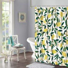 Lifeel Lemon Shower Curtains, Design Waterproof Fabric Bathroom