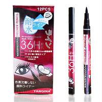 Black Eyeliner Waterproof Liquid Eye Liner Pencil Pen Beauty Makeup Comestics
