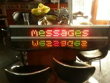 Adaptive Micro Systems Big Dot LED Electronic Programmable Sign ABD120 Series