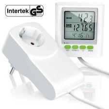 Arendo Power Meter Energiekostenmessgerät Stromverbrauchszähler 3680W weiß