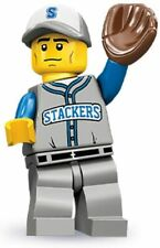 LEGO Collectible Mini figure Series 10 Baseball Fielder-Team Stackers- Pre-Owned