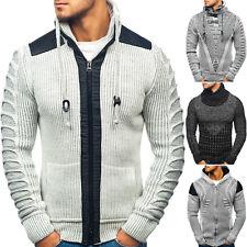 BOLF Sweater Pullover Cardigan Strickjacke Strickpullover Herren Mix 5E5 Motiv