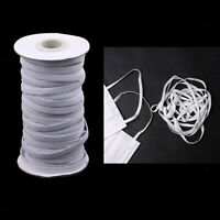 3/5 / 6mm 5 Yards Gummibänder Spule Sewing Band Flat Elastic Cord Trim