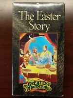 The Easter Story Greatest Adventure Stories From the Bible VHS Richard Thomas