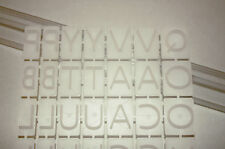Letterpress Set , Embossing Letters, Cake Decorating, Sugarcraft, Baking