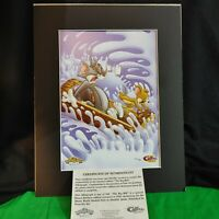 "Tom And Jerry Toon Art Limited Edition Lithograph - ""The Big Hill"""