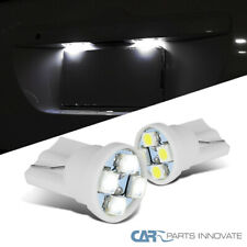 2x 194 501 921 T10 4-SMD LED Bulbs Integra Legend NSX