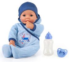 Hello Baby Boy Funktionspuppe Babypuppe Weichkörperpuppe Bayer 46 cm Schnäppchen