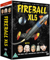 Fireball XL5: The Complete Series DVD (2013) Gerry Anderson cert U ***NEW***