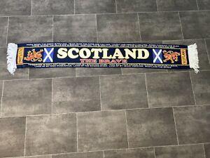 SCOTLAND FOOTBALL SCARF - SCOTLAND THE BRAVE