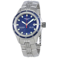 Certina DS Blue Ribbon Blue Dial Mens Watch C0074101104100