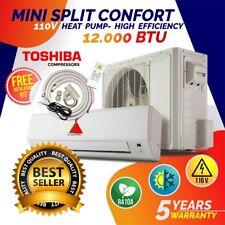 12000 BTU 110v Mini Split Confort  System Ductless AC  Heat Pump  600sqf 110V