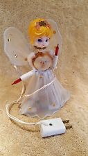 Vintage  Lighted Angel Tree Topper Working