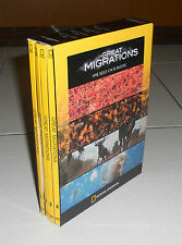 Box 4 Dvd GREAT MIGRATIONS National Geographic Vive solo chi si muove 2011