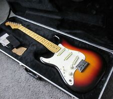 1983/4 USA VTG FENDER STRATOCASTER SMITH ERA 2 KNOB SUNBURST GUITAR LH LEFTY