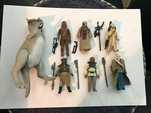 JOB LOT COLLECTION original STAR WARS Vintage First 12 Chewbacca  Complete Nikto