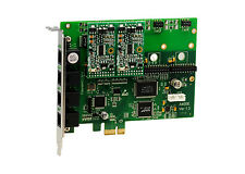 OpenVox A400E20 A400E 4 Port Analog PCI-E card + 2 FXS + 0 FXO, Ethernet (RJ45)