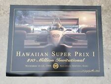Kenny Youngblood Signed Hawaiian Super Prix I Poster / Lithograph Only 100 Made