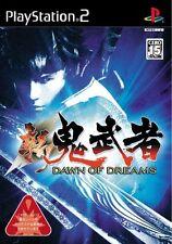 Used PS2 Shin Onimusha: Dawn of Dreams   Japan Import (Free Shipping)