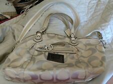 COACH 16295 Poppy Rocker Signature Satchel Handbag
