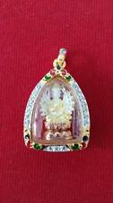 Mini Guan Yin Thousand Hands Amulet -Wat Keawjamfa