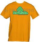 1-IRISH AND PROUD OF IT GREEN SHAMROCK GRAPHIC PRINTED T-SHIRT ST. PATRICK'S DAY