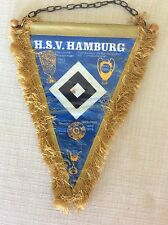 GAGLIARDETTO UFFICIALE CALCIO H.S.V. HAMBURG AMBURGO GERMANIA BUNDESLIGA
