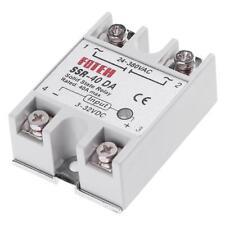 Mini Single Phase DC 3-32V to AC 24-380VAC SSR-40DA 40A Solid State Relay Module